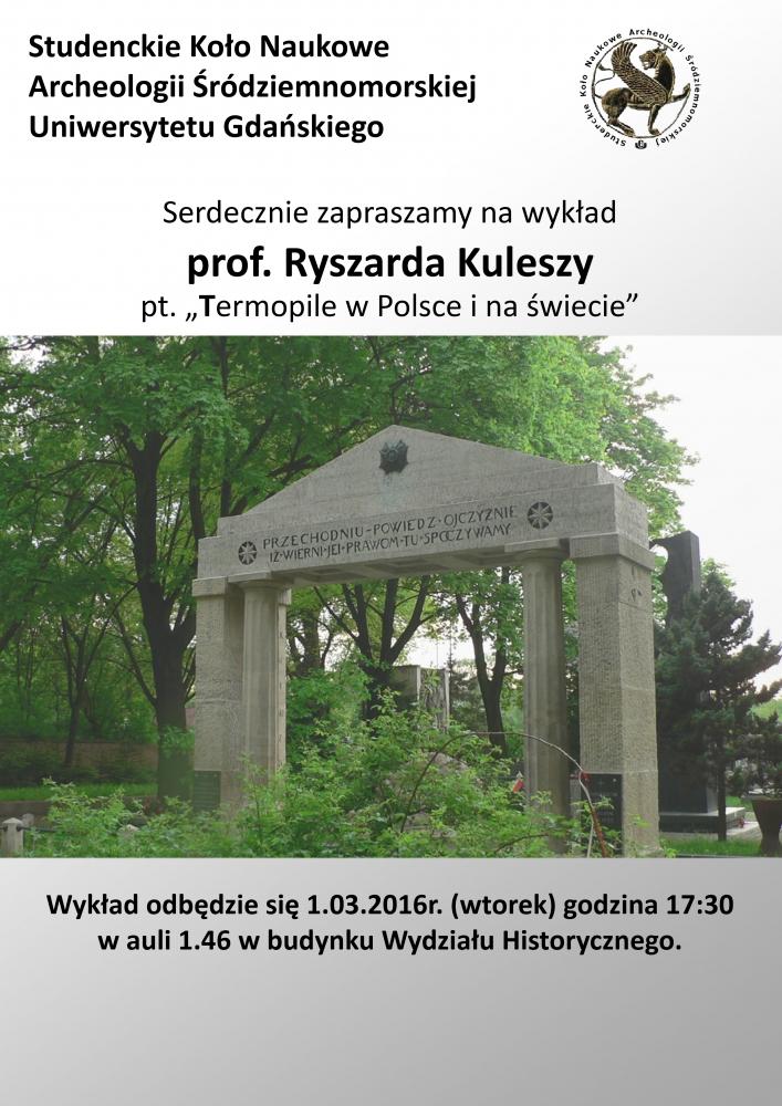 Wykład prof. Kuleszy