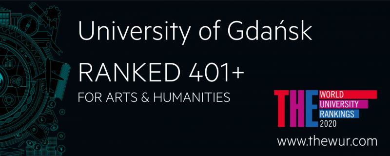 UG w rankingu Times Higher Education World University Rankings 2020