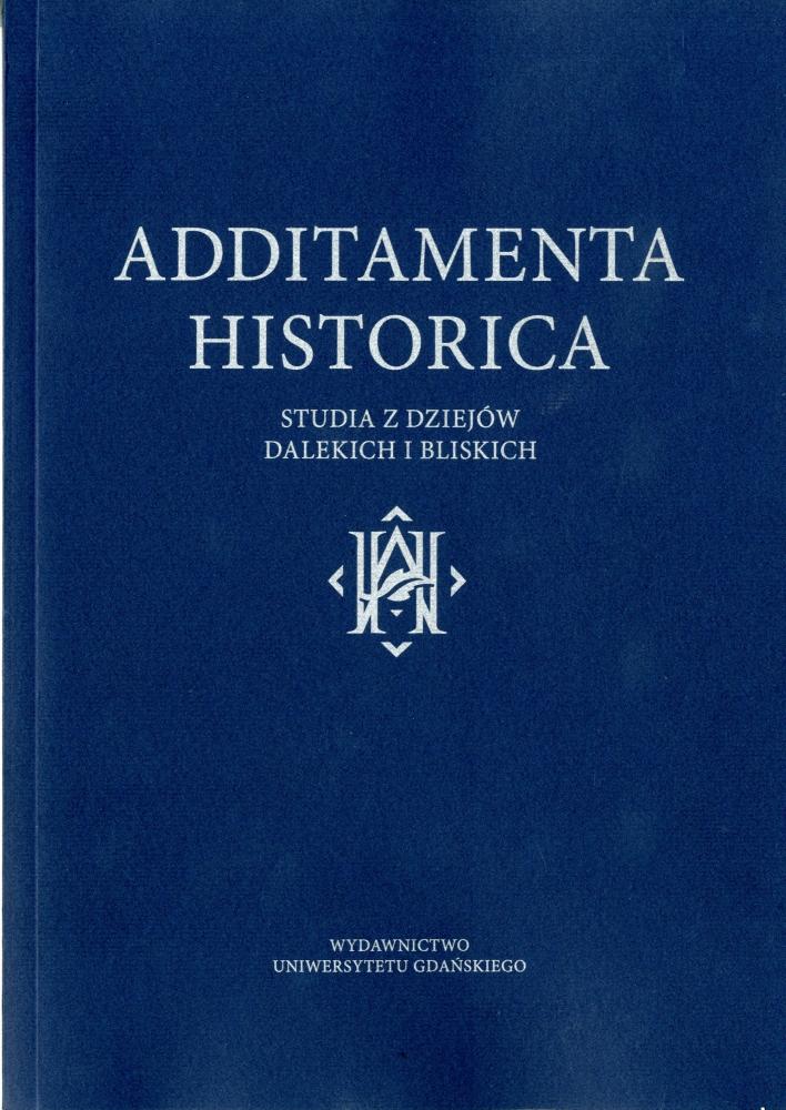 Additamenta Historica