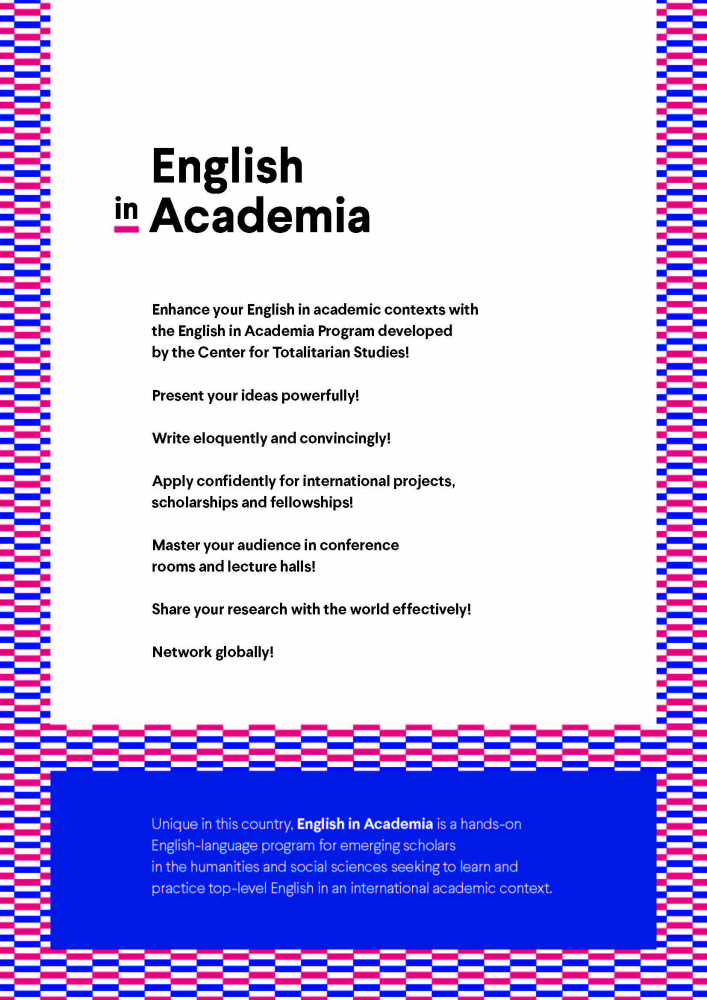 English in Academia