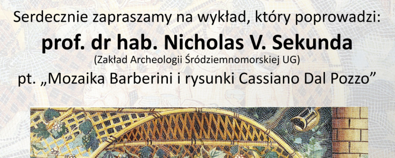 Wykład N.V. Sekunda