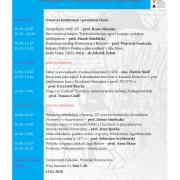 Plakat - program